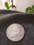 Moneda de plata de 5 pesetas 1870 - foto