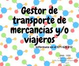 GESTOR TRANSPORTE / COMPETENCIA PROFAL.  - foto