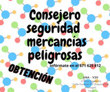 CONSEJERO SEGURIDAD MERCANCIAS PELIGROSA - foto