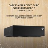 CARCASA USB 3.0/2.0 PARA DISCO DURO 3.5