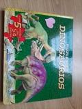 libro de puzle dinosaurios - foto