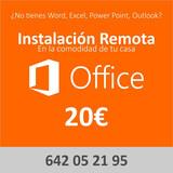 Office instalacion completa remota.  - foto