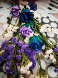 Ramo de rosas artesanales - foto