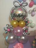 Arreglos florales y con globos - foto