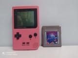 Game boy pocket rosa y juego - foto