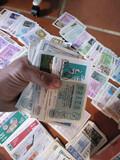 Colección de loterías - foto