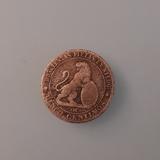 Moneda 5 céntimos de peseta 1870 - foto