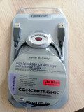 CONCEPTRONIC USB COPY & NETWORK CABLE