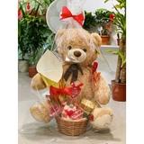 oso más ramo de rosas san Valentín - foto