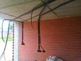 Albañil apertura de rozas electricidad - foto