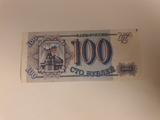 billete de 100 cto pygnen ruso - foto