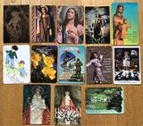 calendarios motivos religiosos. - foto