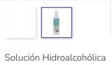 Gel hidroalcoholico - foto