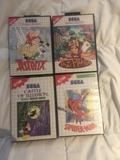 Vendo juegos de consola Master System 2 - foto