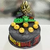 Tarta de Dragón Ball Z - foto