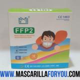 MASCARILLA FFP2 INFANTIL DE 6 A 12 AÑOS - foto
