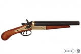 Pistola de doble caÑon recortada - foto