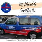 Reparto publicitario en Sevilla - foto