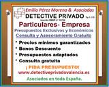 Detectives privados en valencia - foto
