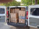 transportes/mudanzas furgoneta. - foto