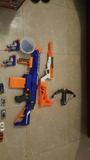5 x 25 euros pistolas nerf - foto