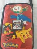 Pokemon platino y funda oficial pokemon - foto
