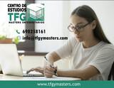 TRABAJOS UNIVERSITARIOS:  TFG · TFM - foto