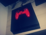 Playstation 4 500gb + Dualshock Rojo - foto