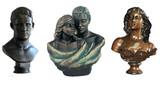 Bustos y esculturas - foto