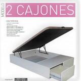 CANAPES DE DOS CAJONES - foto