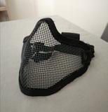 Máscara protección rejilla Stalker negra - foto