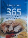 GRAN LIBRO DE LOS 365 MENÚS - foto