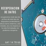 recuperación de datos - foto