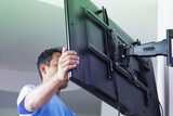 instalar todo tipos de soporte tv . - foto