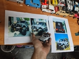 fabrico maquetas 4x4 turismo rally racin - foto