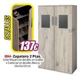 ZAPATERO 2 PUERTAS REF.  0044 - foto