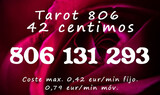 Tarot sin gabinete 806 131 293 - 42 cent - foto