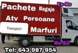 Transport pachete,animale Es Ro si Ro Es - foto