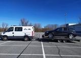 Transporte grúa de vehiculos - foto