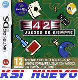 JUEGO  DS 42 JUEGOS DE SIEMPRE     - foto