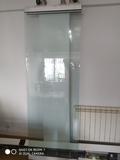 puerta de cristal automatica besam - foto