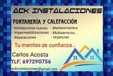 FONTANERIA Y CALEFACCION, ACK INSTALACIO - foto