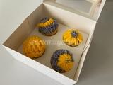 Cupcakes flores - foto