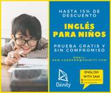 INGLÉS CON PROFESOR NATIVO - PARA NIÑOS - foto
