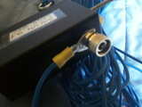 Antena HF. Dipolo. Hilo largo. - foto