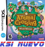 JUEGO  DS ANIMAL CROSSING WILD WORLD     - foto