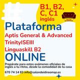 PLATAFORMA ONLINE APTIS TRINITY ISE III - foto