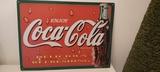 Cartel de lata de coca cola - foto