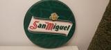 cartel de lata cerveza San miguel - foto