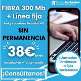 FIBRA 300 MB CON COBERTURA MOVISTAR  - foto